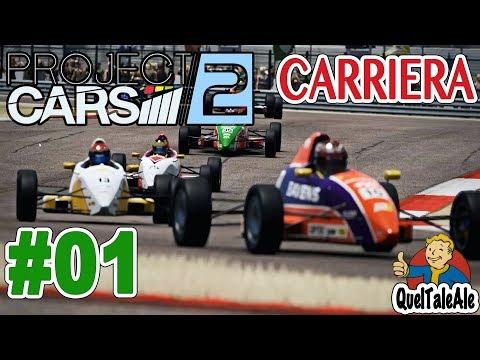 Project Cars 2 - Gameplay ITA - [T300] - Carriera #01 - Si inizia di traverso