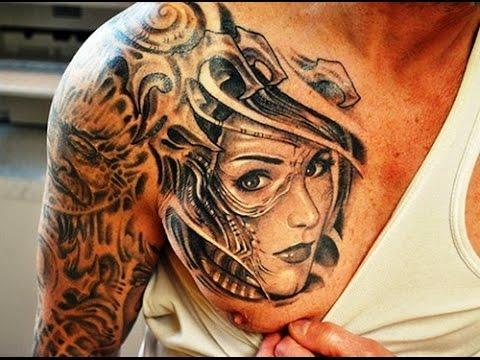 Most Beautiful Men Shoulder Tattoos