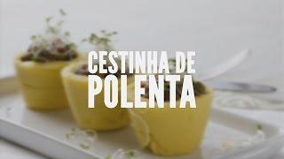 Cestinha de polenta – Receitas Saudáveis