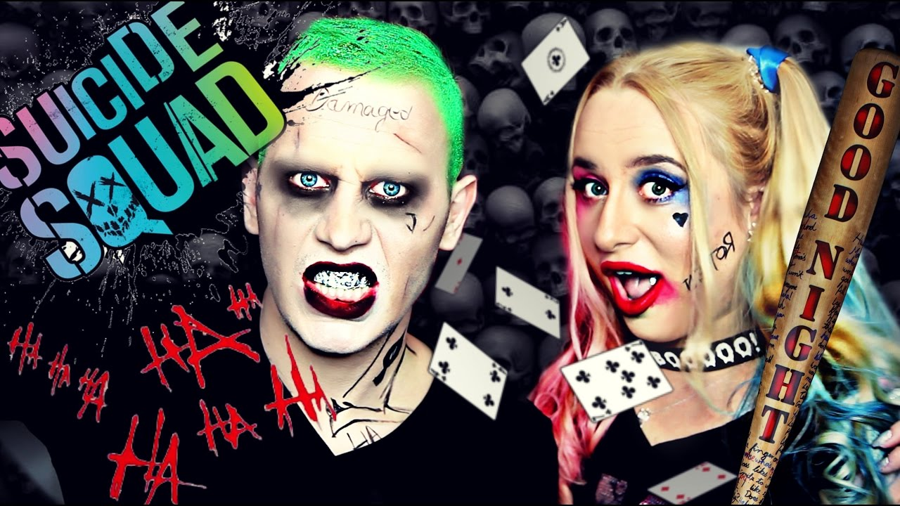 Joker Harley Quinn Halloween Youtube
