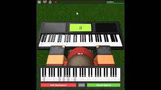 Suite No. 4 in D Minor: Movement 1 and 3 by: Handel on a ROBLOX piano.