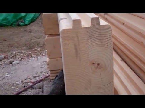 2 bedroom log cabin building