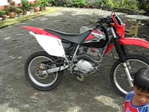 Xr200 Modified Philippines >> Honda Xr200 Muffler Diskbrake Youtube
