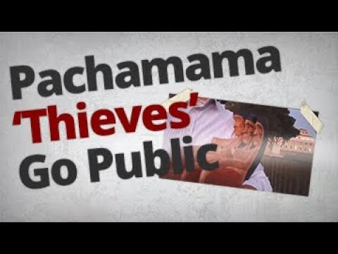 The Vortex — Pachamama 'Thieves' Go Public