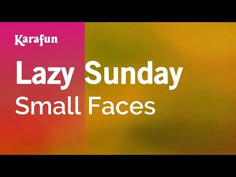Karaoke Lazy Sunday - Small Faces *