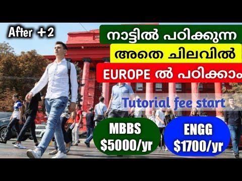 നാട്ടിൽ പഠിക്കുന്ന അതെ ചിലവിൽ യൂറോപ്പിൽ പഠിക്കാം| Abroad Education malayalam | MBBS & Engineering