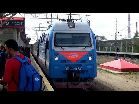 Поездка на поезде №326с Новороссийск - Пермь из Казани в Пермь. Остановка в Ижевске