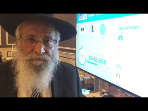 Rabbi Lipskar from the Florida Operations room