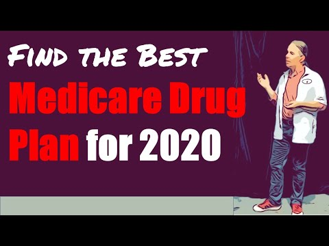 Find The Best Medicare Part D Drug Plan For 2020