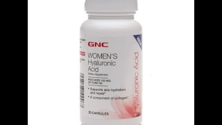 GNC Women's Hyaluronic Acid, Capsules 30 ea