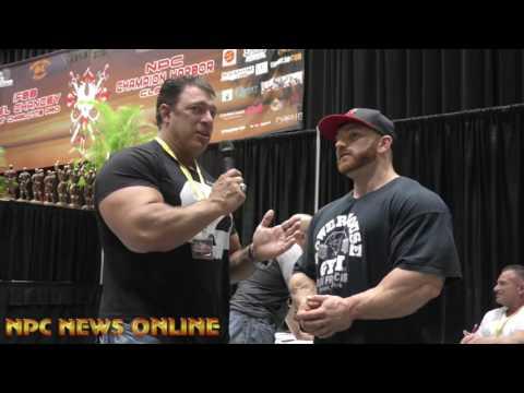 Bob Cicherillo  Interviews 212 Olympia Champ Flex Lewis At The 2016 IFBB Port Charlotte