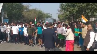 ritu-maheshwari-md-nmrc-flags-off-half-marathon-republicday