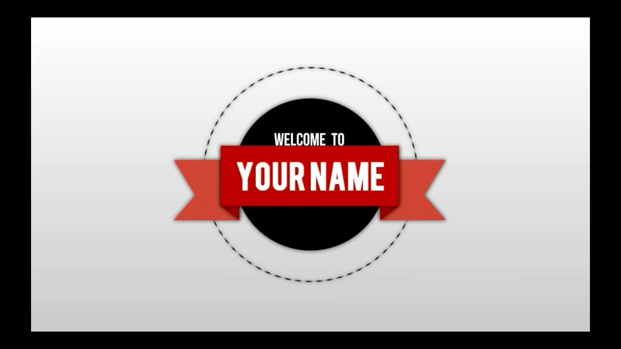 FREE 2D Text Animation Intro Template (SONY VEGAS) - YouTube
