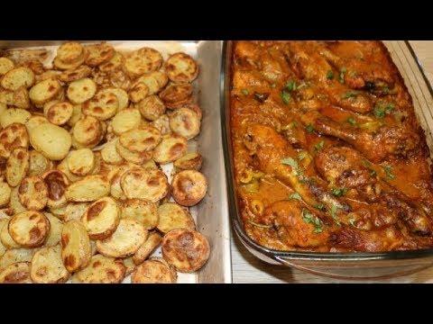 poulet-en-sauce-aux-pommes-de-terre-facile-(cuisinerapide)