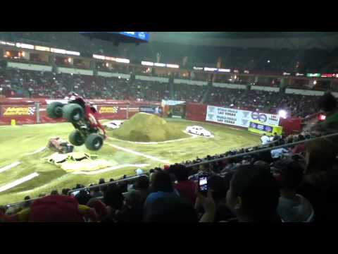 Monster Jam 2012 in Fresno, Ca