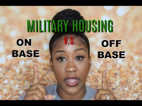 Should You Live ON Base Or OFF Base In The Military | My True Opinion