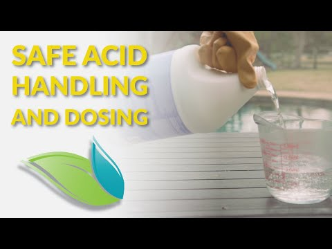 How To Safely Add Muriatic Acid to a Swimming Pool | Orenda Procedures