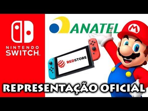 Nintendo Switch será lançado no Brasil via representante oficial - Confirmado na Anatel