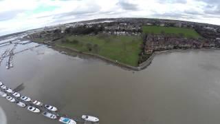 DJI Phantom 2 - River Medway at Rochester
