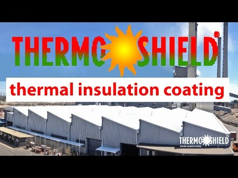 Insulation and Cool Roof Paint for Commercial Energy Efficie