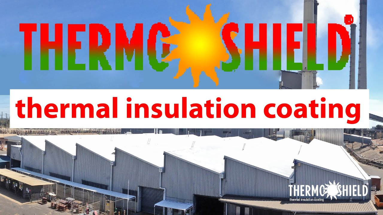 Insulation and Cool Roof Paint for Commercial Energy Efficiency