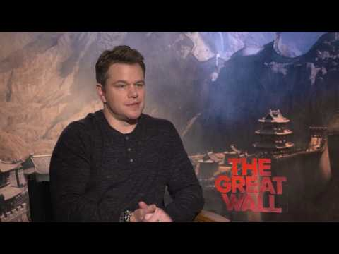 Thumbnail: THE GREAT WALL: Matt Damon Talks Filming in China, Learning Archery & More