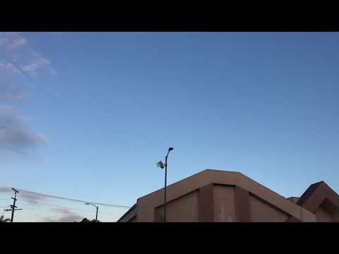 nouvel ordre mondial | UFO In South Central Los Angeles, USA - September 22, 2017