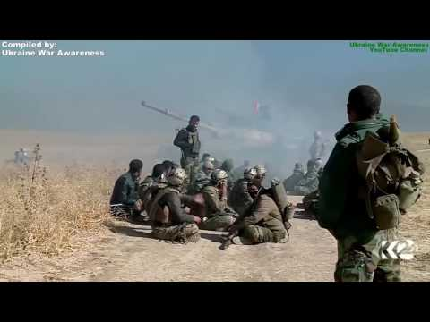 RAW First Days of Mosul Offensive. US Artillery Troops, Peshmerga, Iraqi Army Operation Compilation