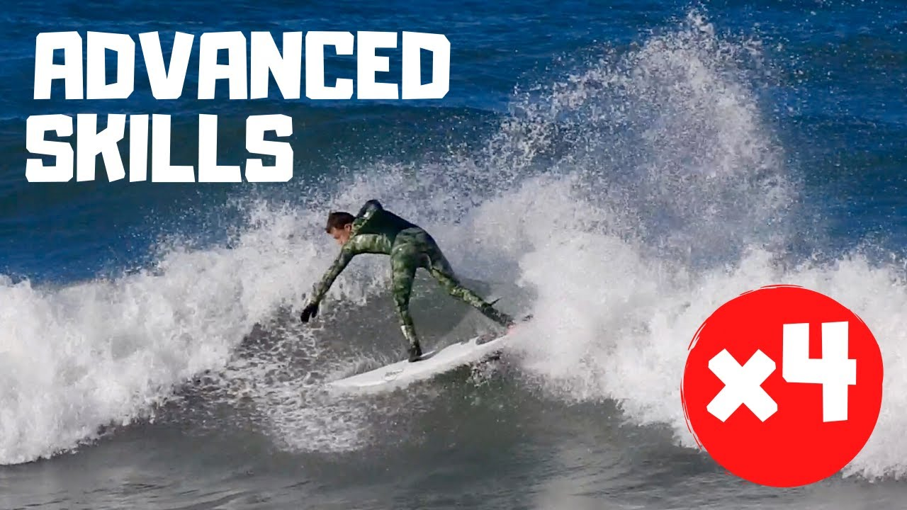 4 ADVANCED Skills For The Intermediate Surfer To Learn