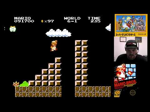 Watch Me Fail! NES Classic - Super Mario Bros. (part 2)   VGHI Play 'n' Chat Live Stream