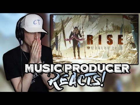 Music Producer Reacts to RISE (ft. The Glitch Mob, Mako, The Word Alive) - League of Legends