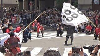 2018年4月29日第36回上田真田まつり、真田丸スペシャルパレードより.