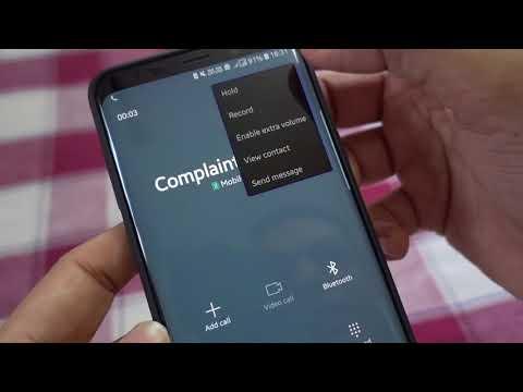 Samsung Galaxy S9/S9 Plus Dual VoLTE & Call Recording Update (OTA)