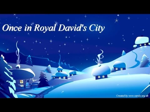 ONCE IN ROYAL DAVID'S CITY Lyrics