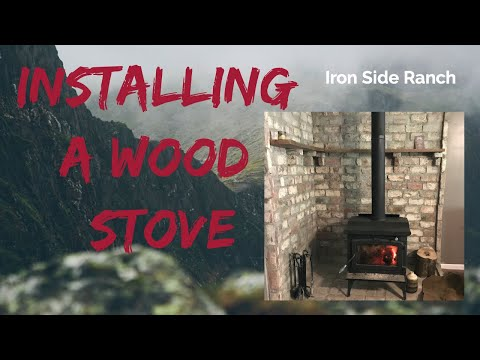 Installing a Wood Stove & Building the Hearth