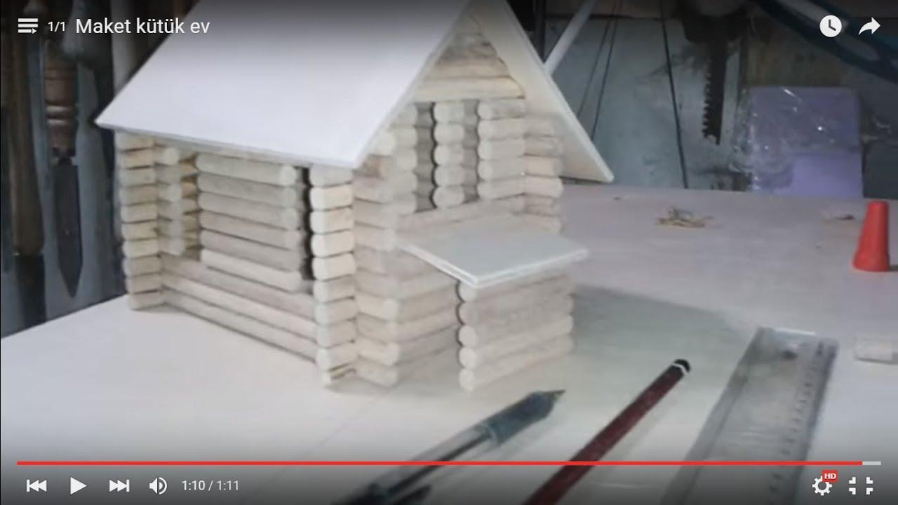 Ağaç Dalından Minyatür Sandalye Yapımı