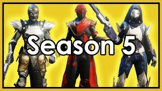 Destiny 2: Datto's Season 5 Fashion Show and Raid Weapon Loadouts