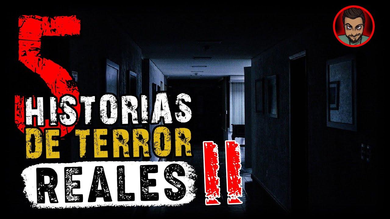 5 HISTORIAS DE TERROR NUEVAS #II (SUSCRIPTORES) | HECHOS REALES (Historias para no DORMIR)