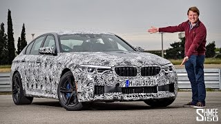 this is the new bmw f90 m5 a first drive