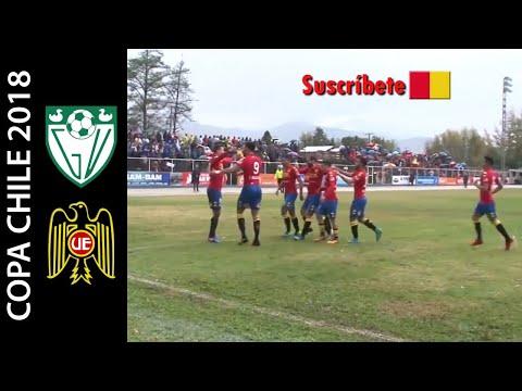 General Velásquez 1-1 Unión Española - Segunda Fase Ida Copa Chile 2018 - Resumen