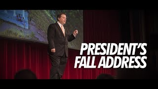 ISU President Satterlee Fall Address 2018 thumbnail