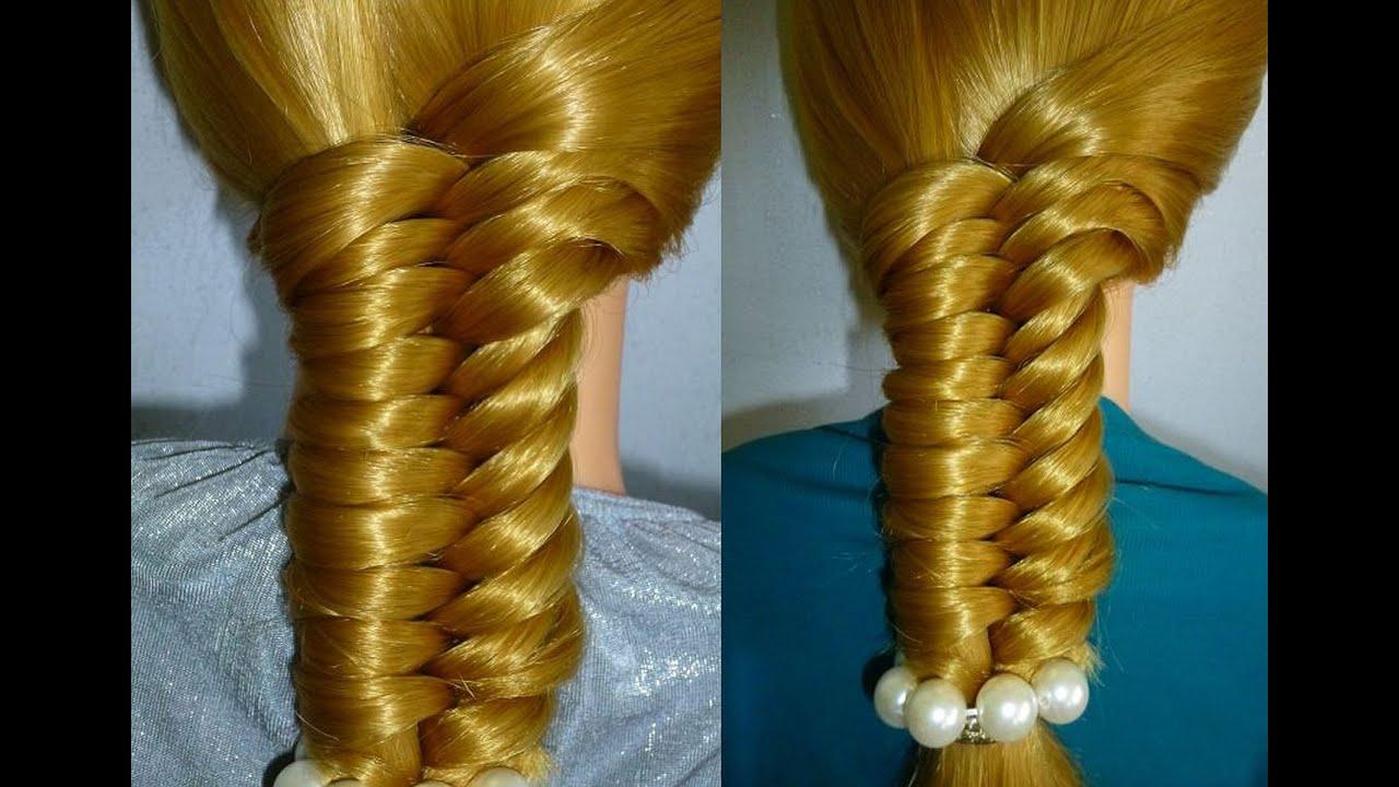 fishtail braid. cute quick easy