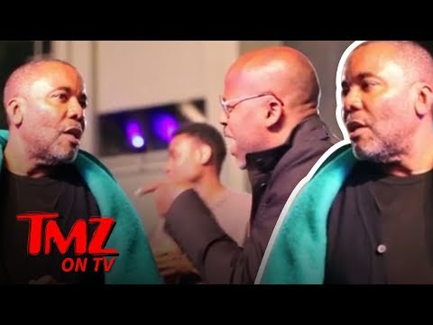 Damon Dash Confronts Lee Daniels!!!  TMZ TV