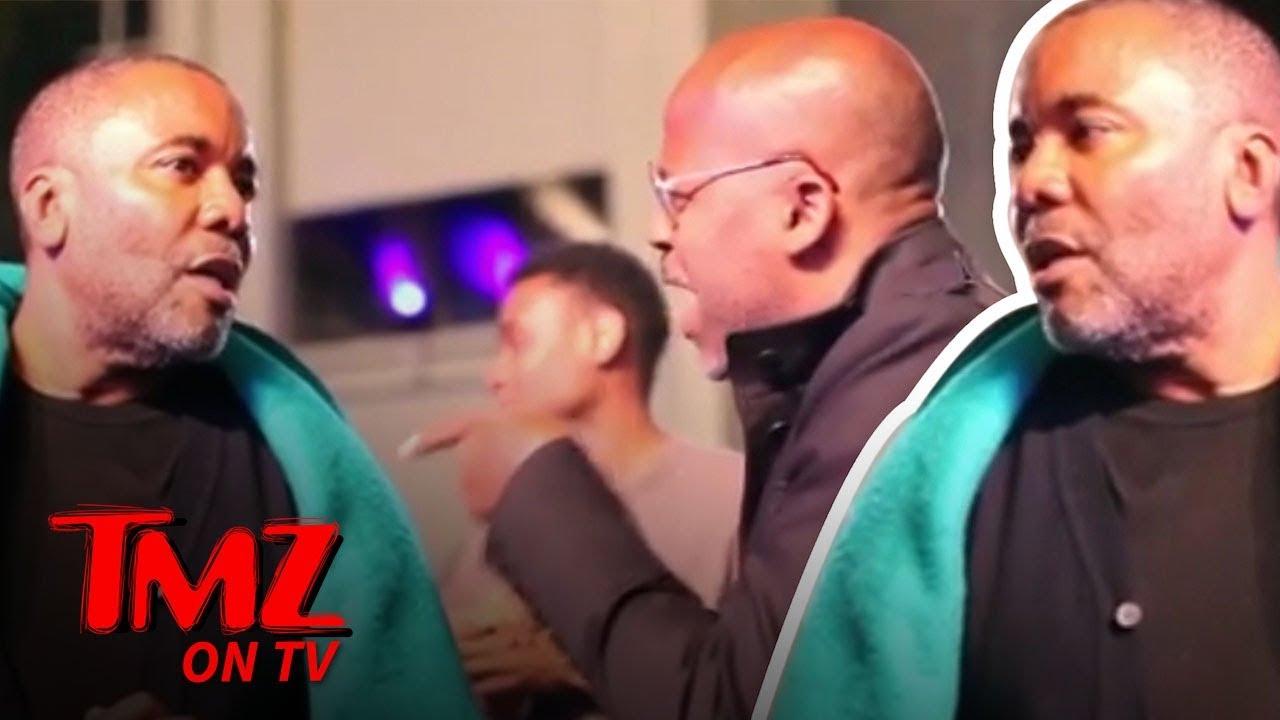 Damon Dash Confronts Lee Daniels!!! | TMZ TV