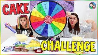 Glücksrad Kuchen Challenge | MYSTERY WHEEL OF CAKE CHALLENGE!!! Mama vs Tochter - Alles Ava