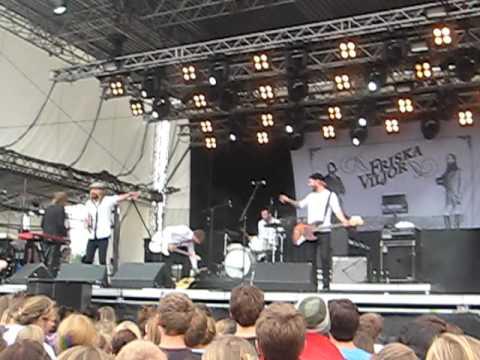 Friska Viljor - live @ Dockville Festival 2010, Hamburg