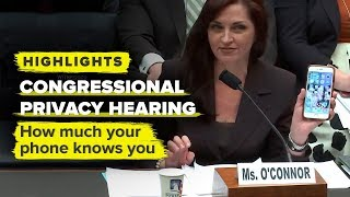 Breaking down how much your phone knows you: Data Privacy Congressional Hearing 2019