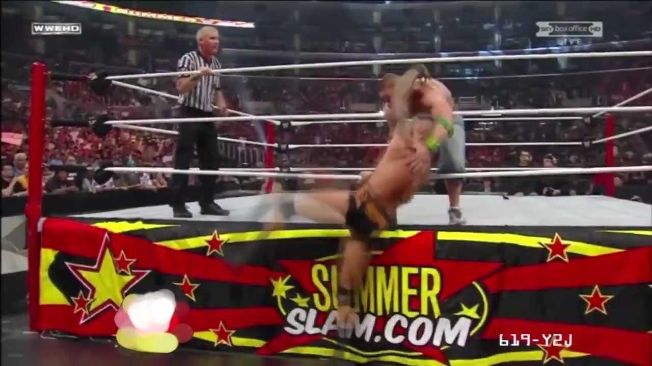 619-Y2J: WWE SummerSlam 2009 John Cena vs Randy Orton WWE ...  619-Y2J: WWE Su...