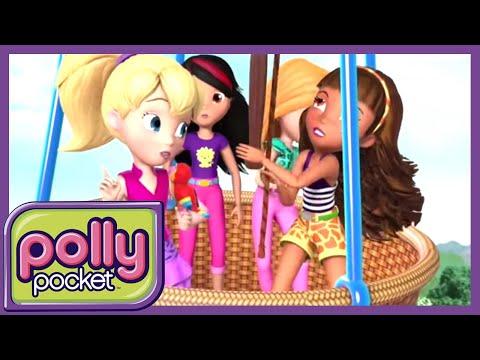 Polly Pocket em Português Brasil 💜 Shani e o papagaio bebê! | Nove Temporada 9 - 1 Hora 🌈 Desenho