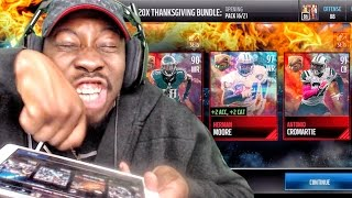 THANKSGIVING PACK OPENING & ELITE EXCHANGE SETS! Madden Mobile 17 Gameplay Ep. 10